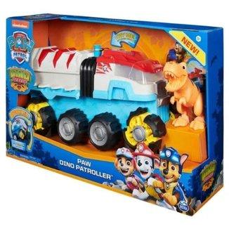 Caminhão Sunny Gigante Motorizado Patrulha Canina Dino Rescue Com Lançador