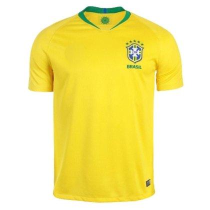 Camisa 10 SPR Seleção Brasil  2018 Réplica Torcedor Masculina