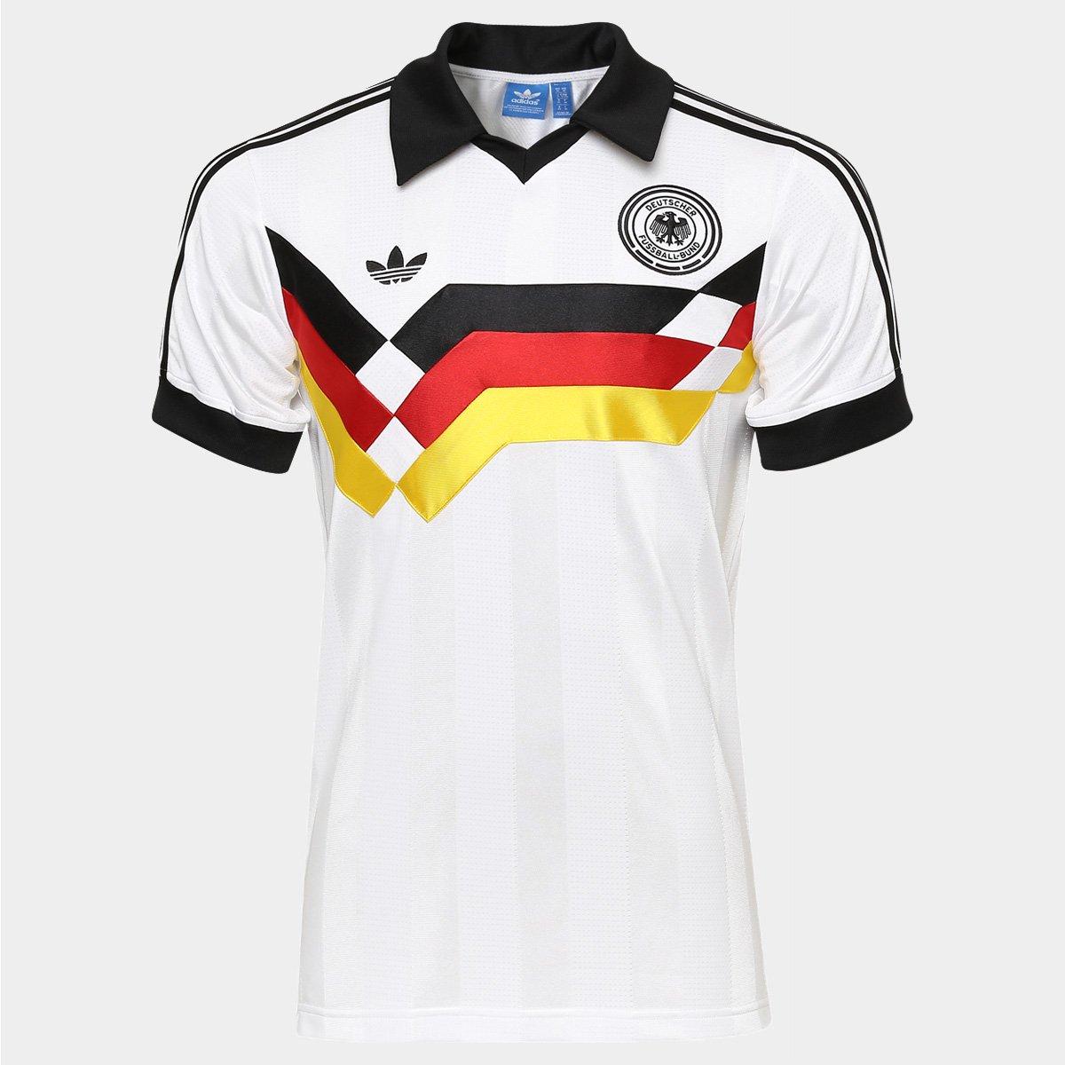 eb0269d3e2 Camisa Adidas Alemanha Retrô 1990 - Compre Agora