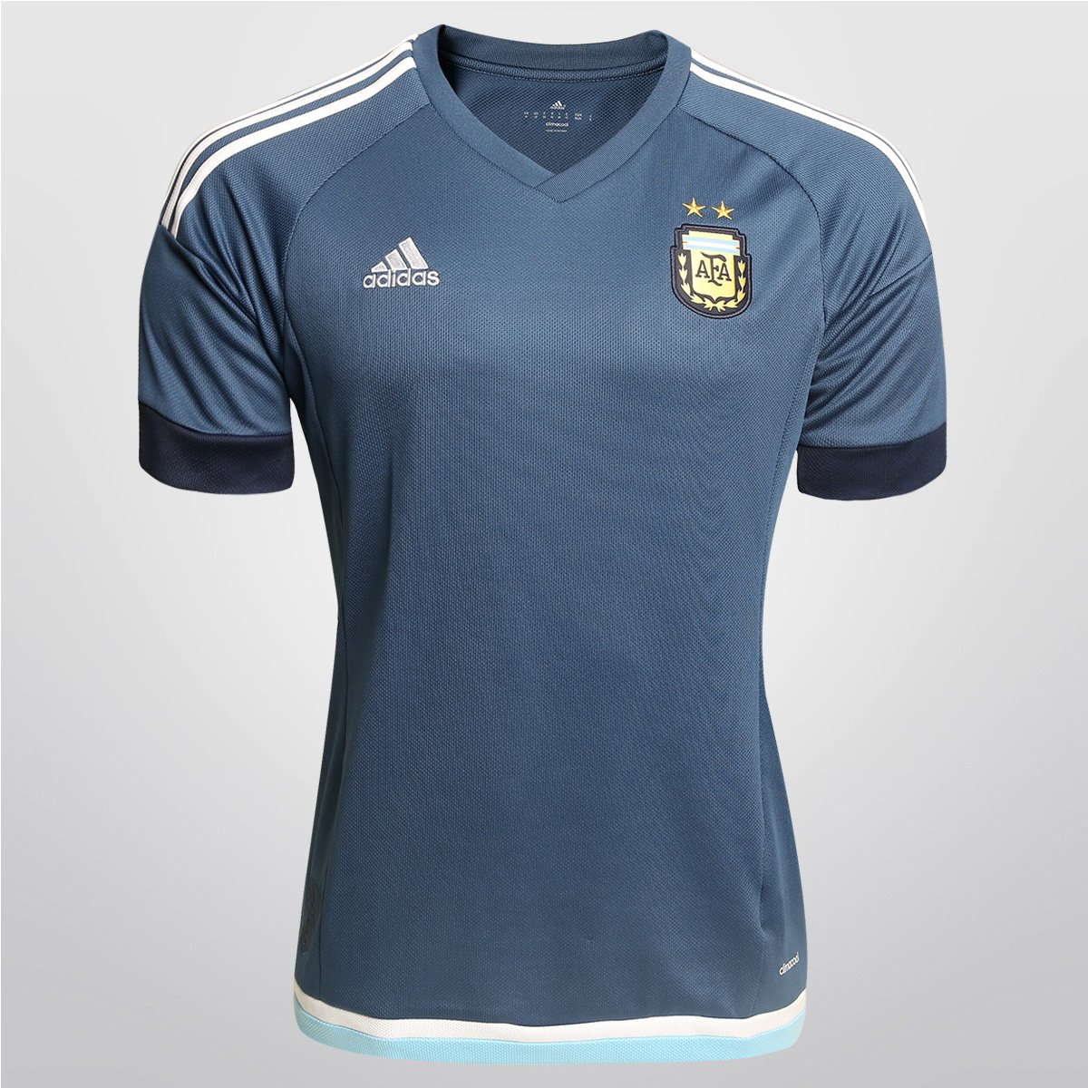 Camisa Adidas Argentina Away 15 16 s nº - Compre Agora  e9fd35aeaf17f