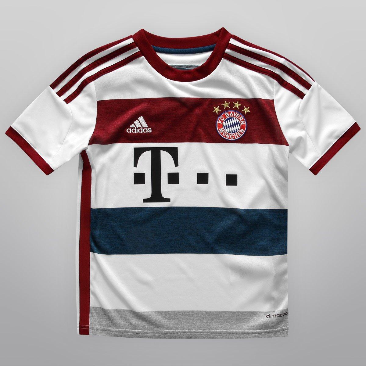 Camisa Adidas Bayern de Munique Away 14 15 s n° Juvenil - Compre Agora  94abc84947f1d