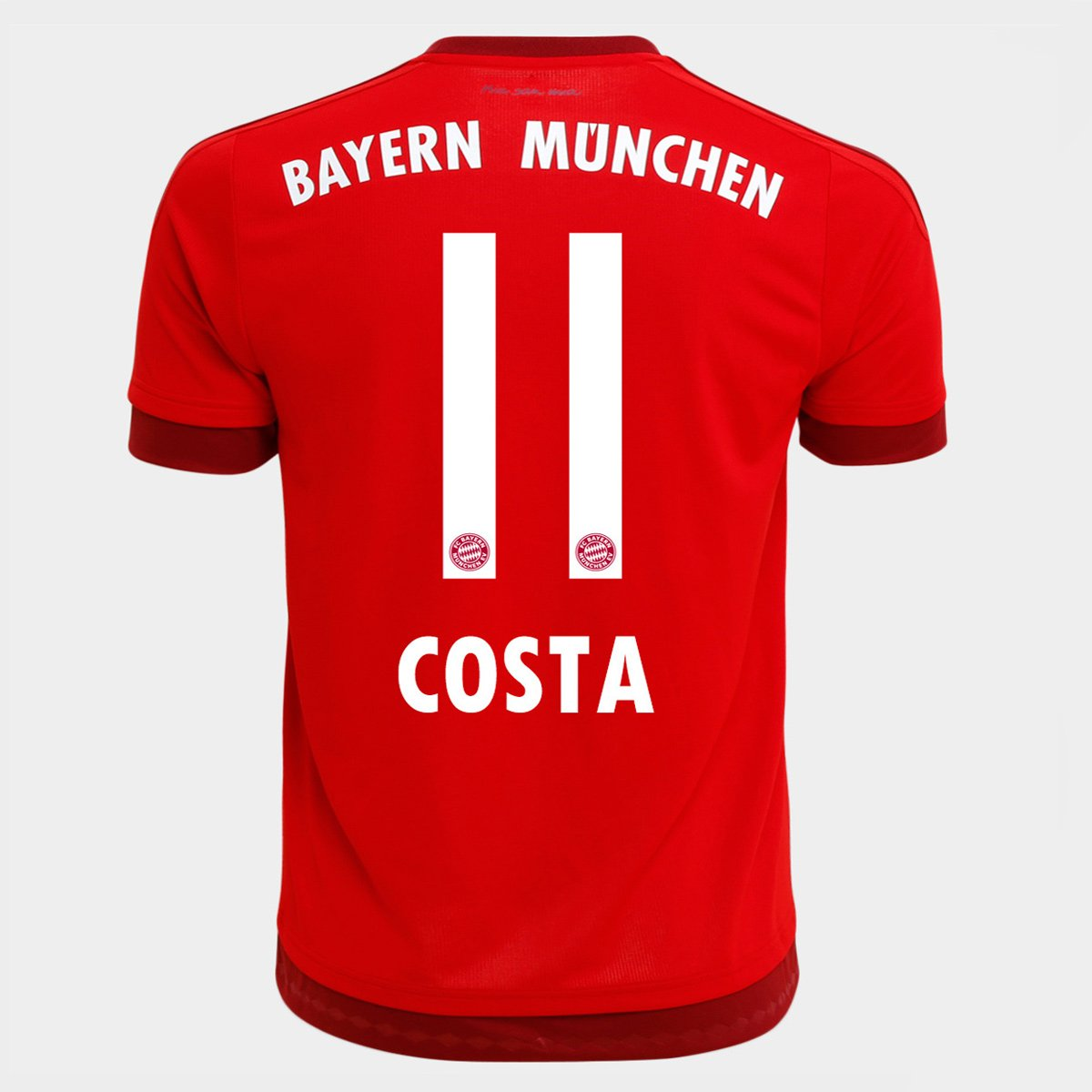 cd718d93f7c3e Camisa Adidas Bayern de Munique Home 15 16 nº 11 - Costa - Compre Agora