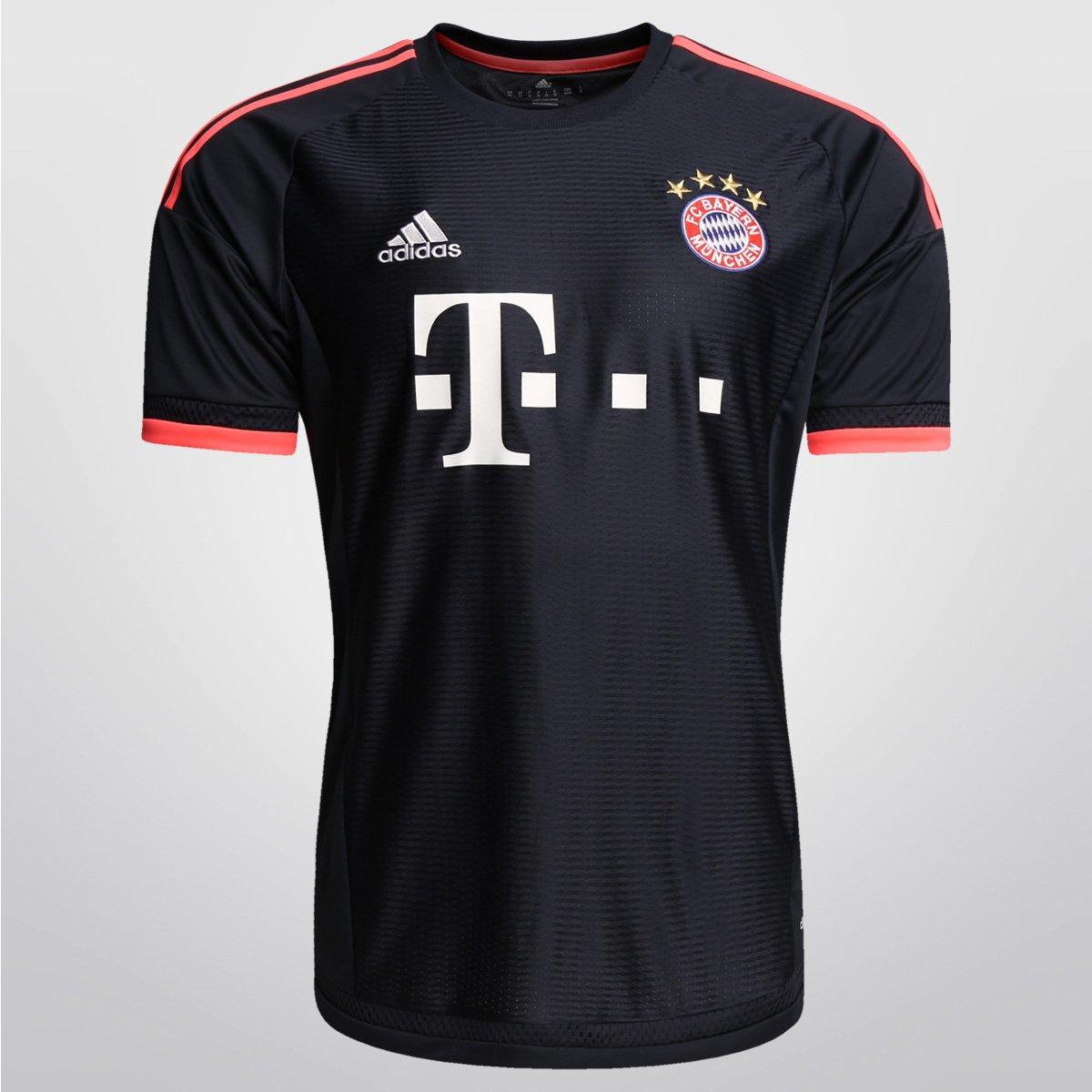 2193483248 Camisa Adidas Bayern de Munique Third 15 16 s nº - Compre Agora ...
