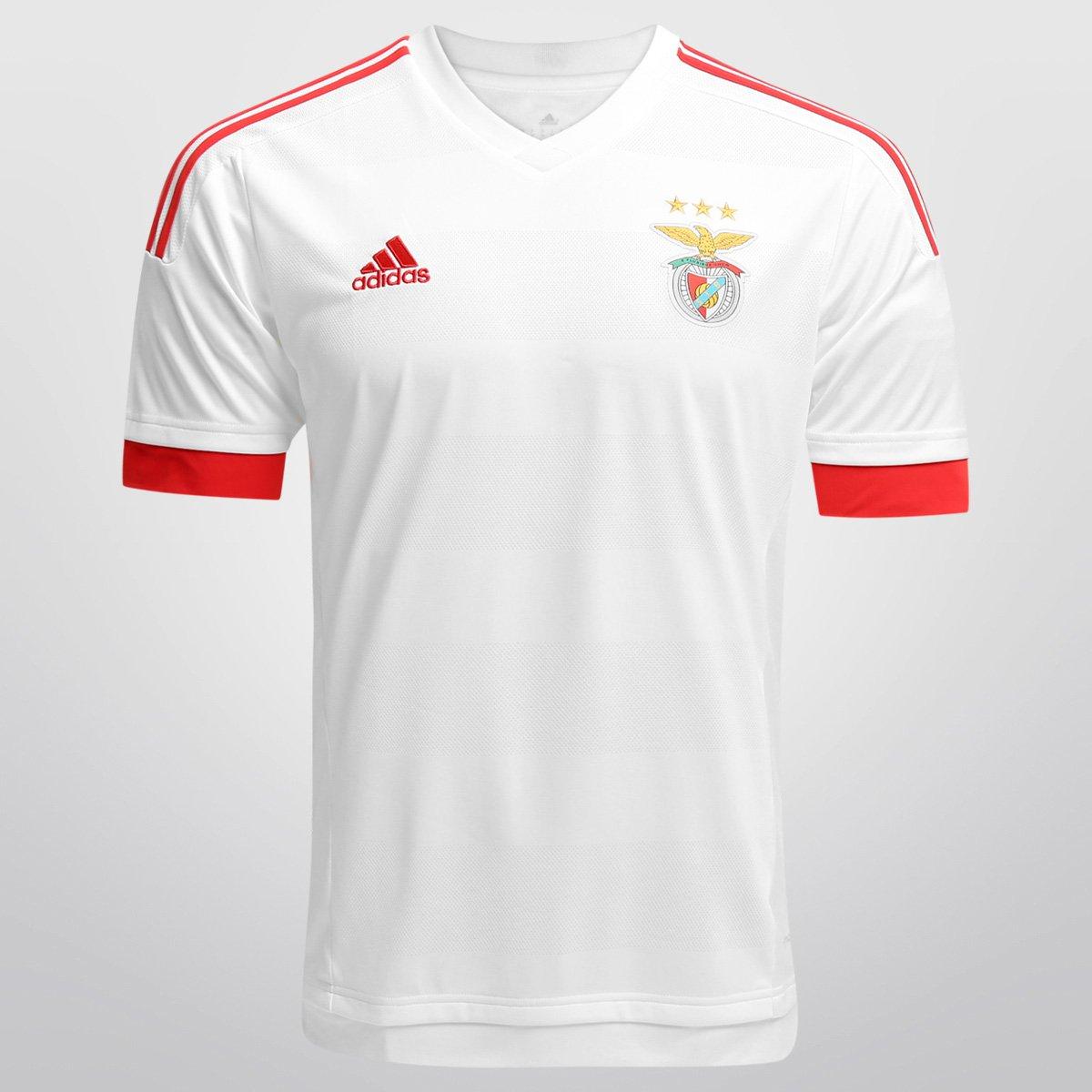 Camisa Adidas Benfica Away 15 16 s nº - Compre Agora  e7e0e7fc46009