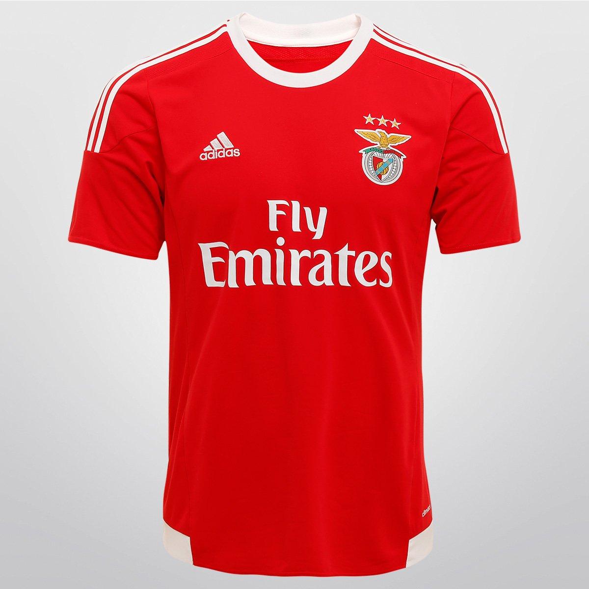 Camisa Adidas Benfica Home 15 16 s nº - Compre Agora  93017866c364e