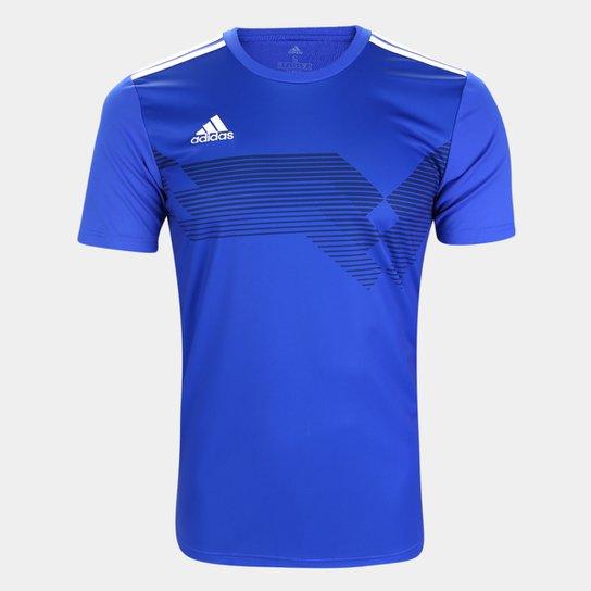 Camisa Adidas Campeon 19 Masculina - Azul