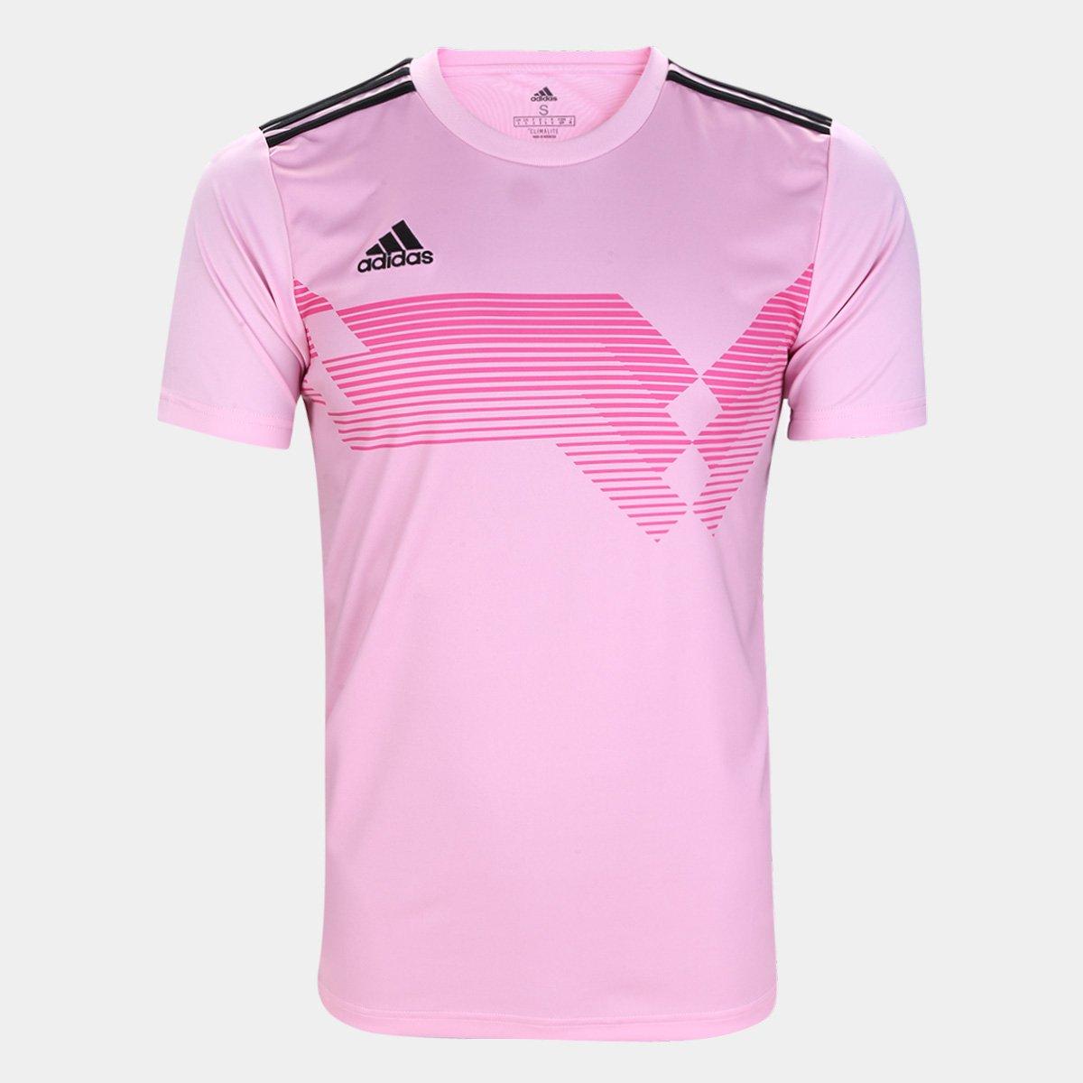 gloria escarcha Espectador  Camisa Adidas Campeon 19 Masculina - Pink   Netshoes