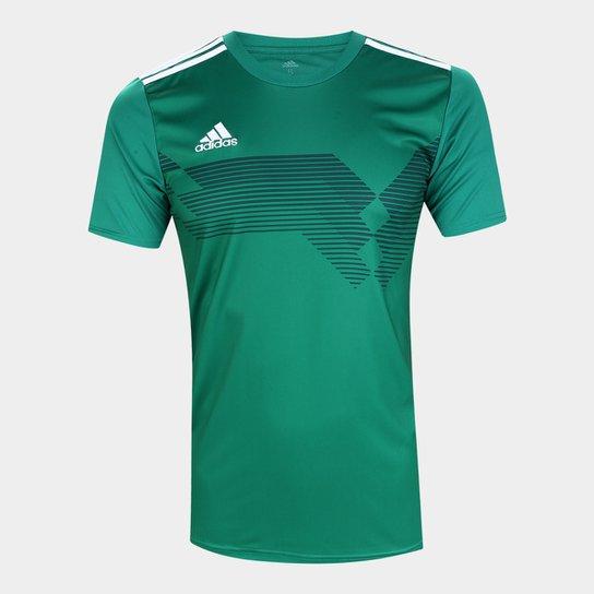 El camarero Definición manguera  Camisa Adidas Campeon 19 Masculina - Verde   Netshoes