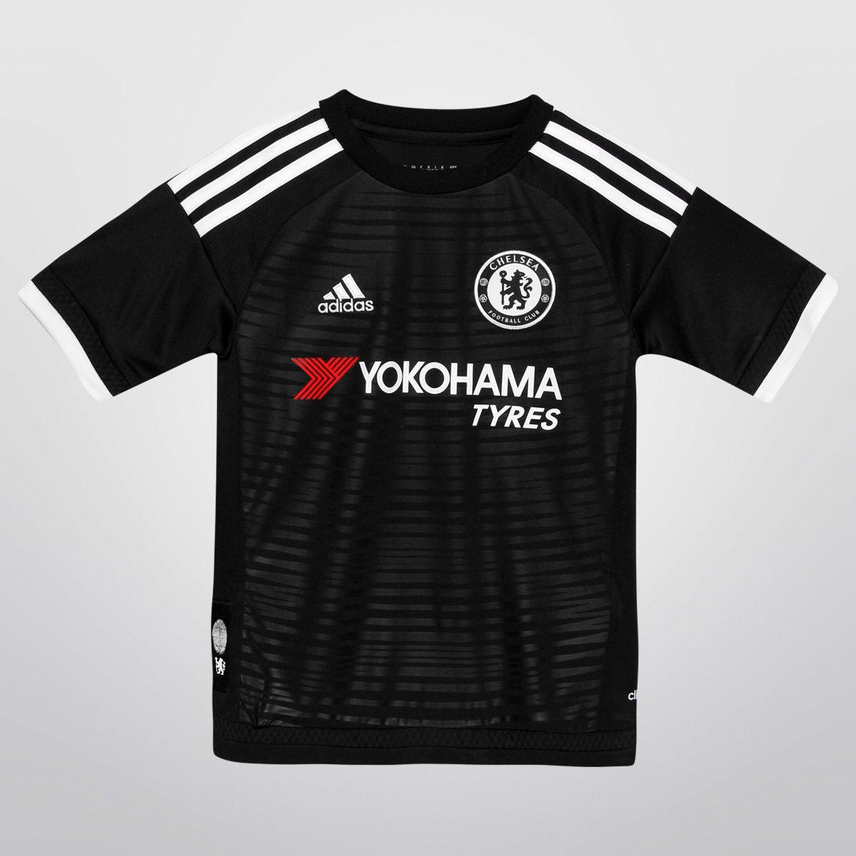 5ca7d2b4eeb44 Camisa Adidas Chelsea Third 15 16 s nº Infantil - Compre Agora ...
