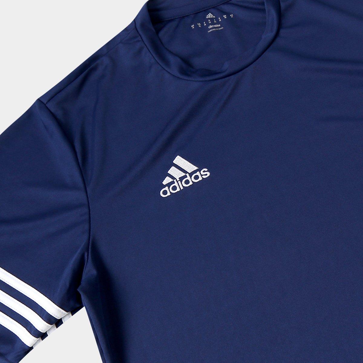 968656d281 Camisa Adidas Entrada 14 Masculina - Azul Escuro - Compre Agora ...
