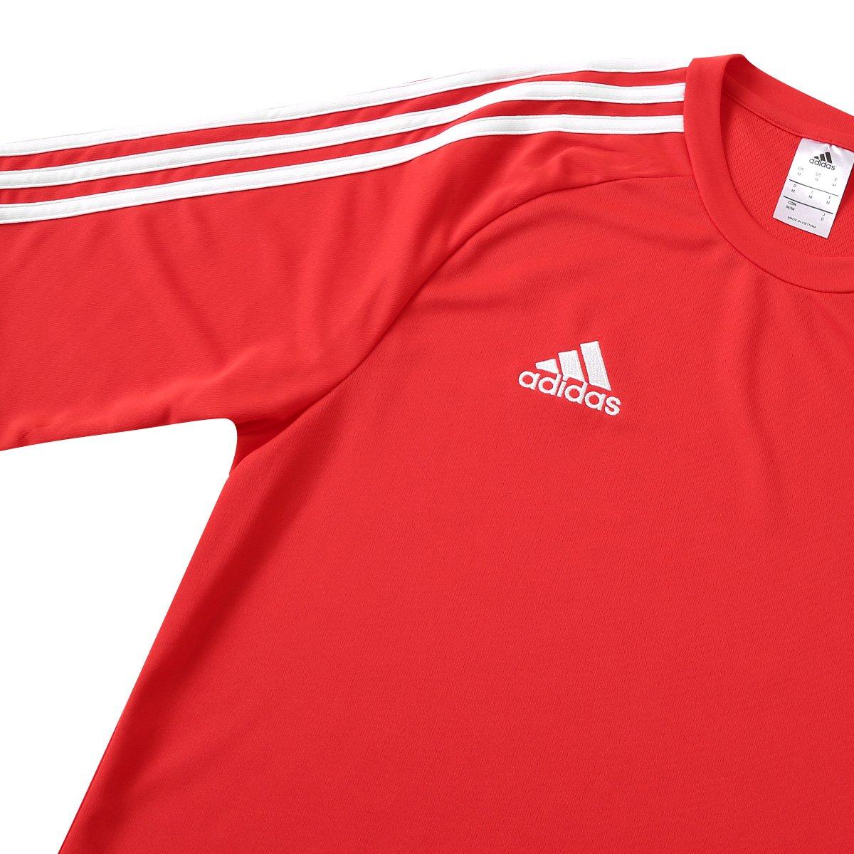 1ff314e0ce Camisa Adidas Estro 15 Masculina - Vermelho e Preto - Compre Agora ...