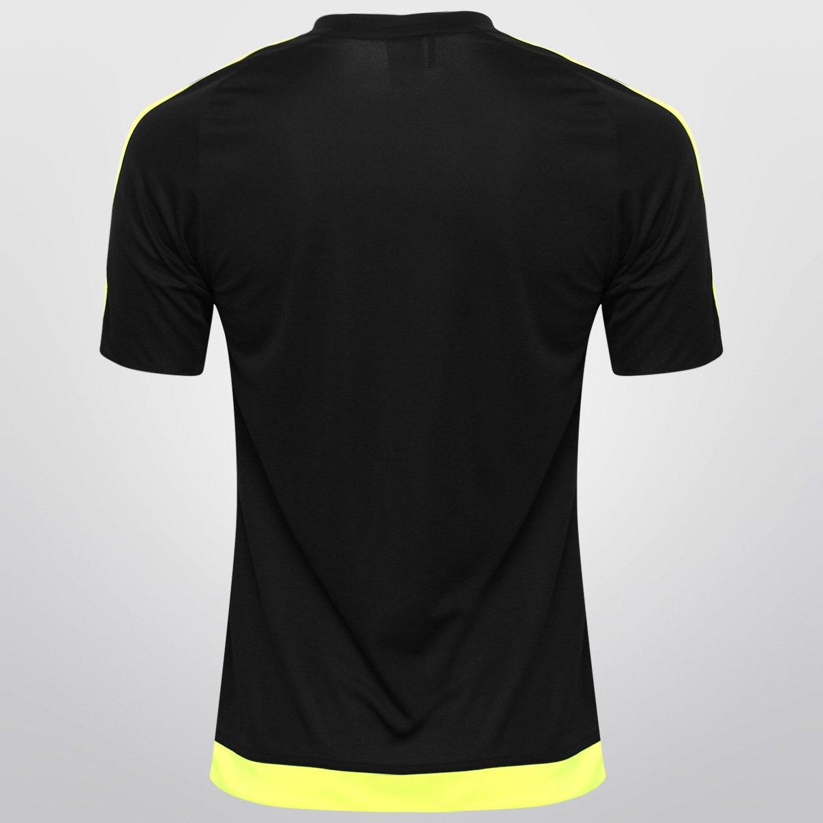 Camisa Adidas Estro 15 Masculina - Preto e Verde Limão - Compre ... 76696d9fffbf0
