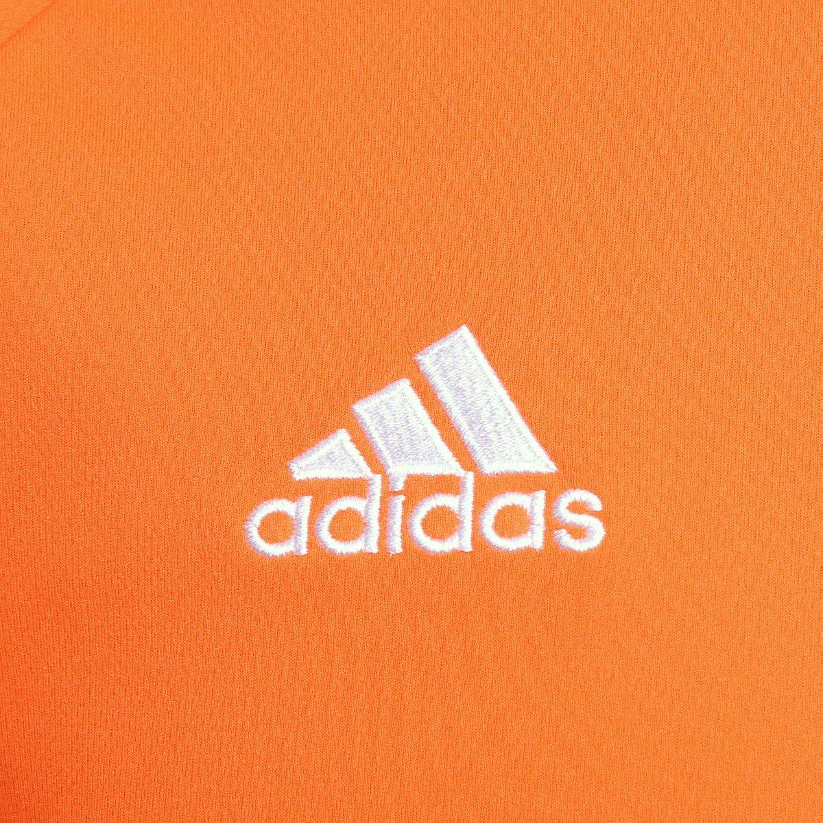 9db3c2e95f Camisa Adidas Estro 15 Masculina - Laranja e Branco - Compre Agora ...