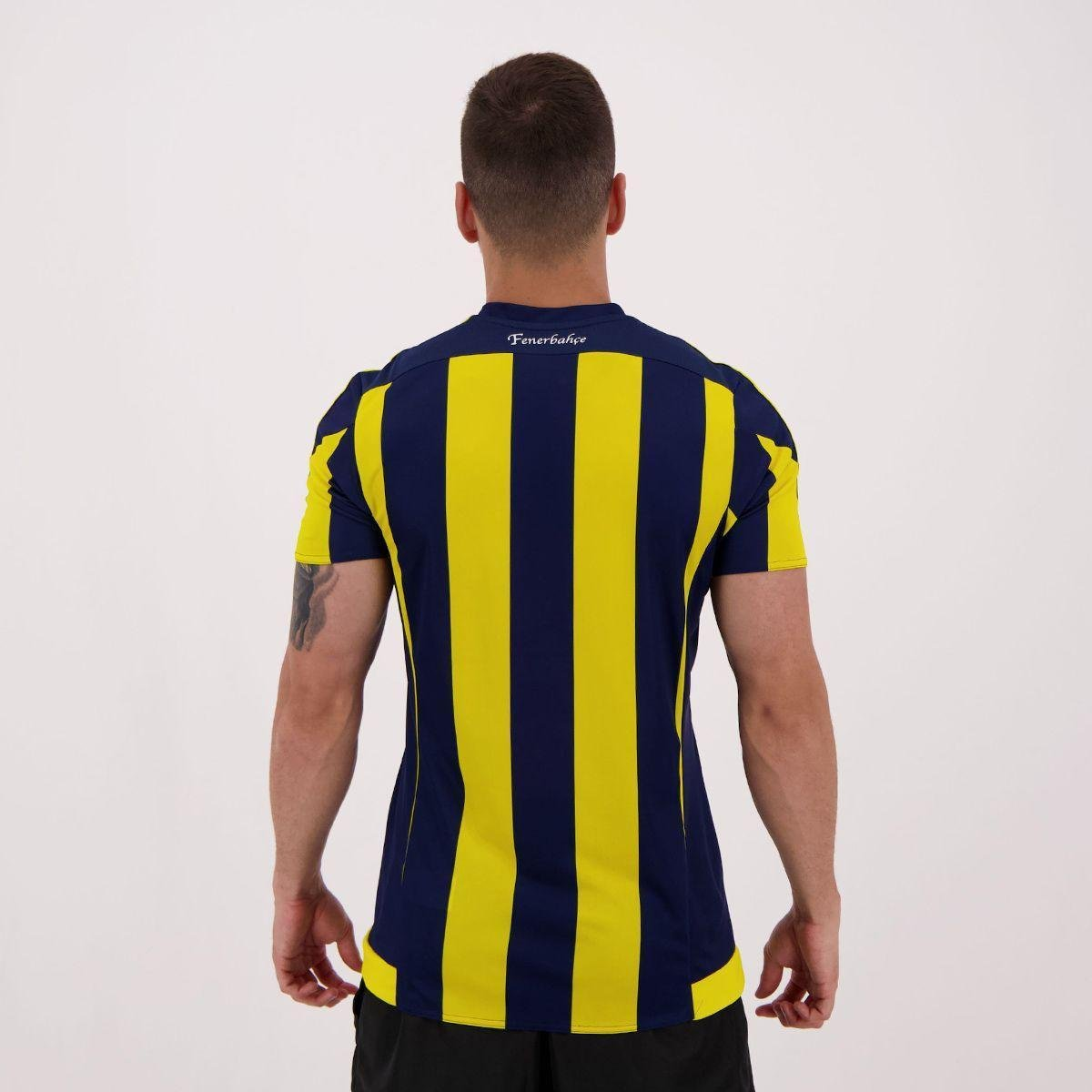 Camisa Adidas Fenerbahce Home 2016 Netshoes