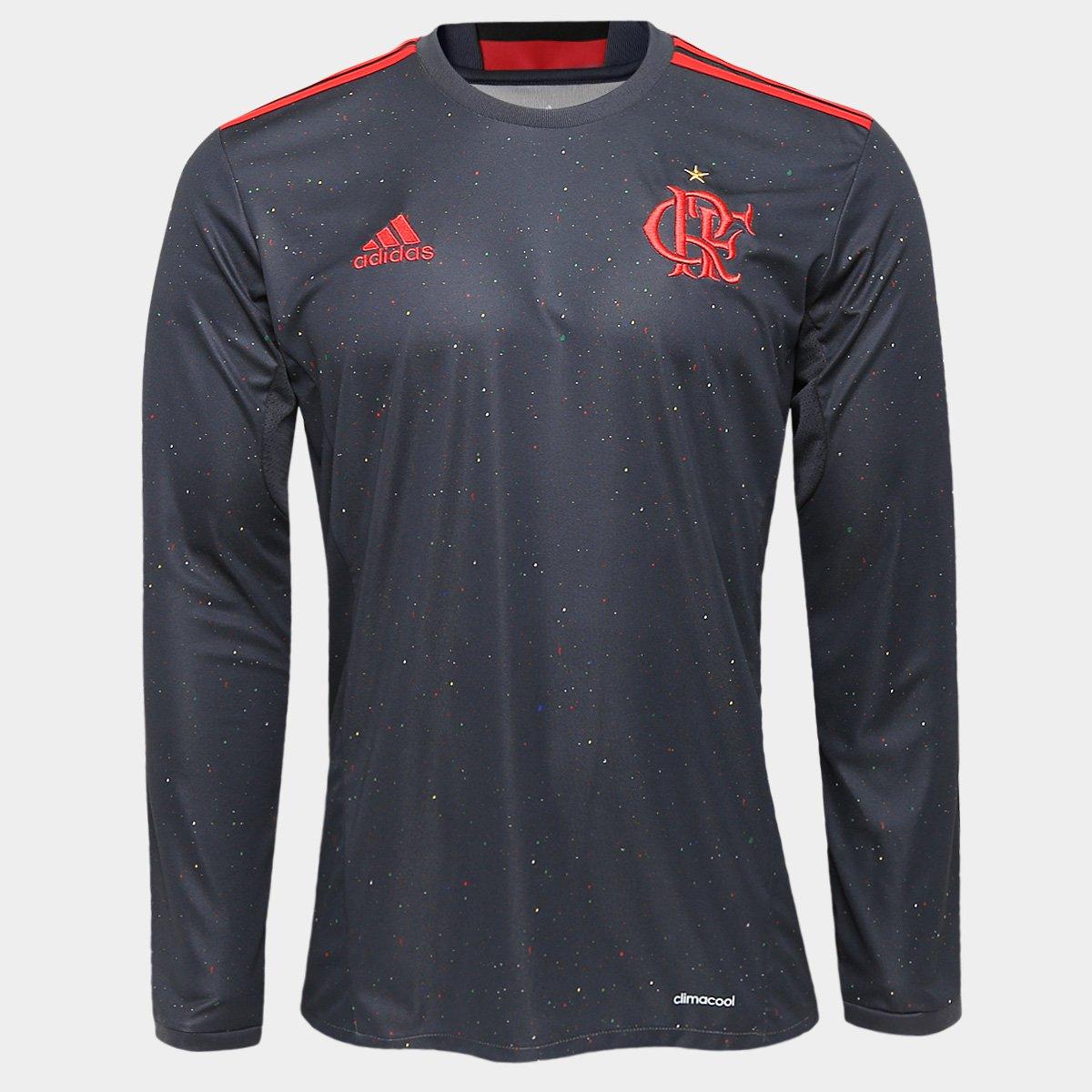 Camisa Adidas Flamengo Especial ML - Compre Agora  8edf21443559c