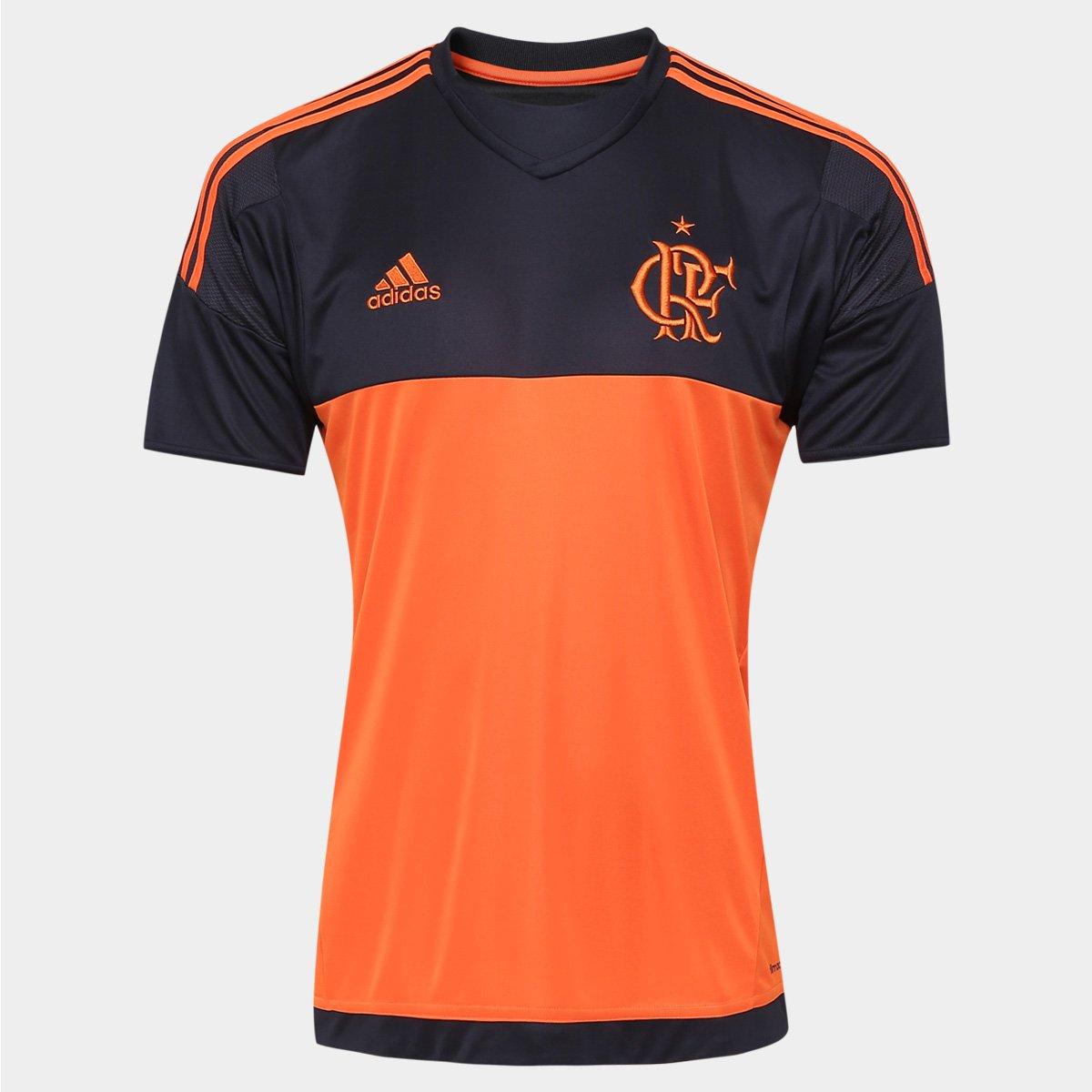 Camisa Adidas Flamengo Goleiro 2016 s nº - Compre Agora  d278ab39fb8ae