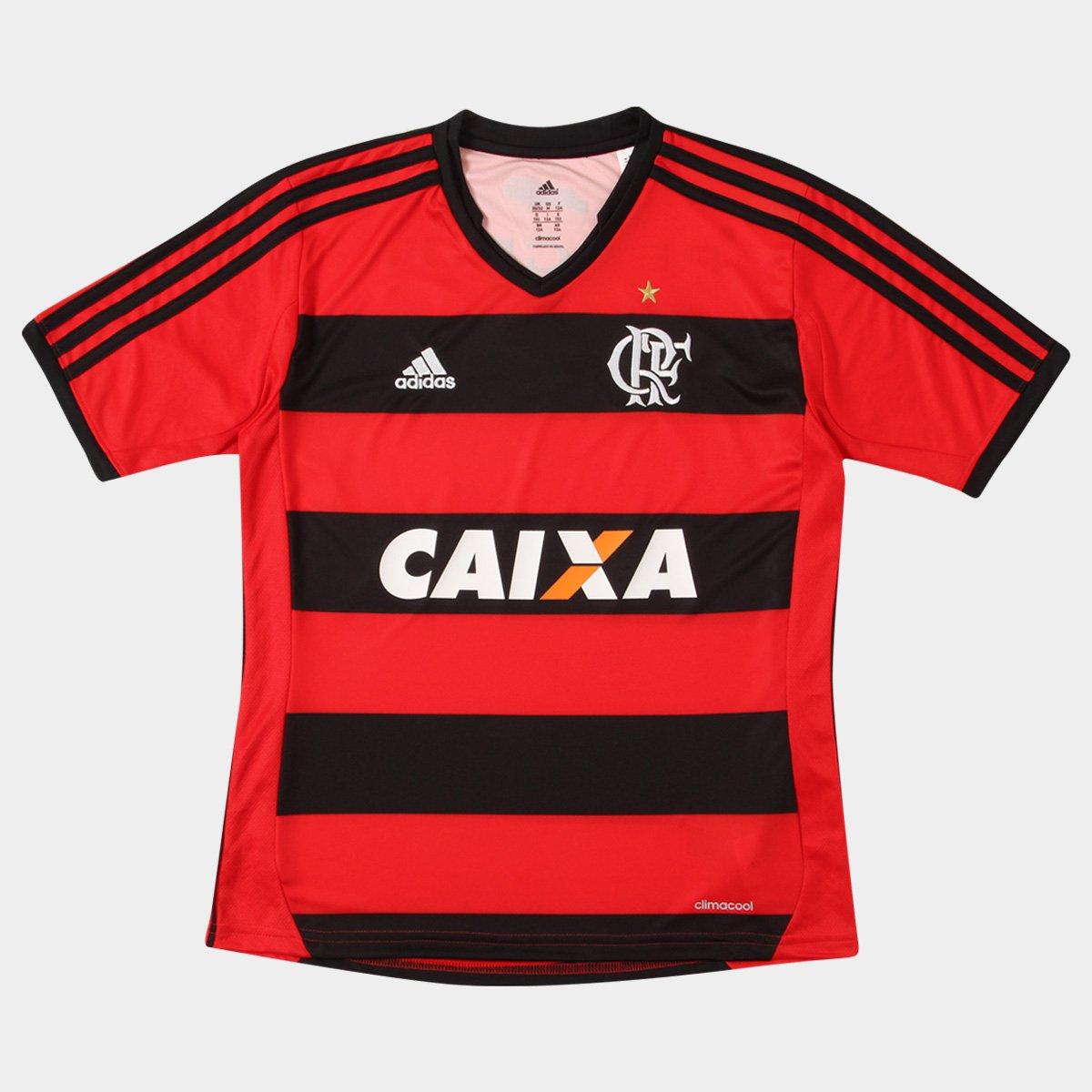 Camisa Adidas Flamengo I 13 14 s nº Infantil - Compre Agora  f8ecad0815c95