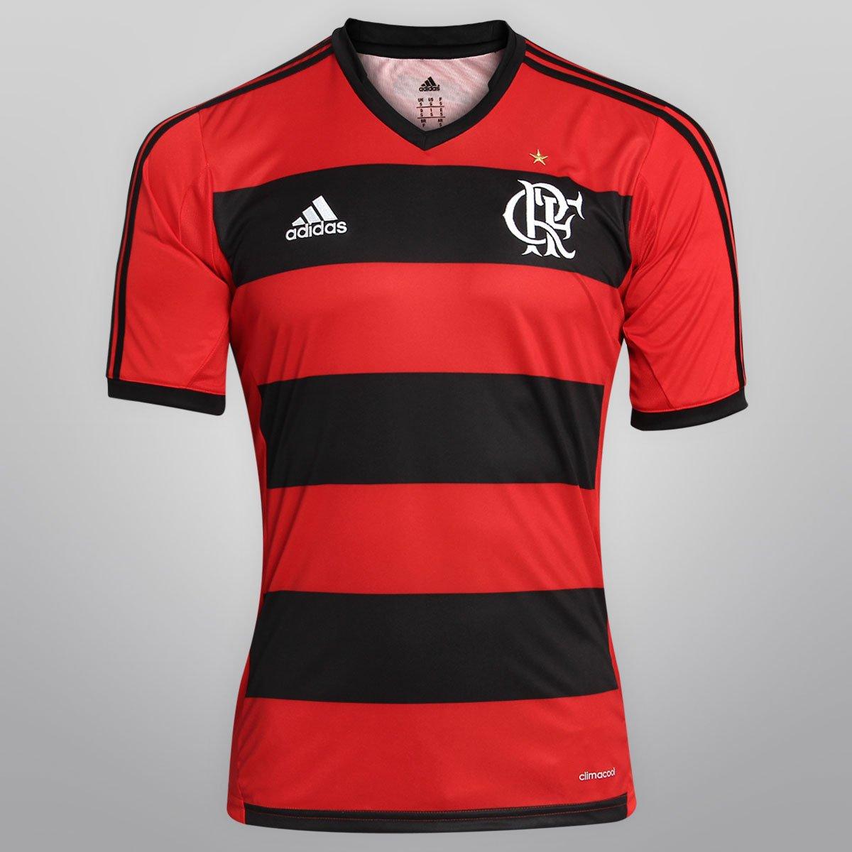 83135618a792b Camisa Adidas Flamengo I 13 14 s nº - Compre Agora