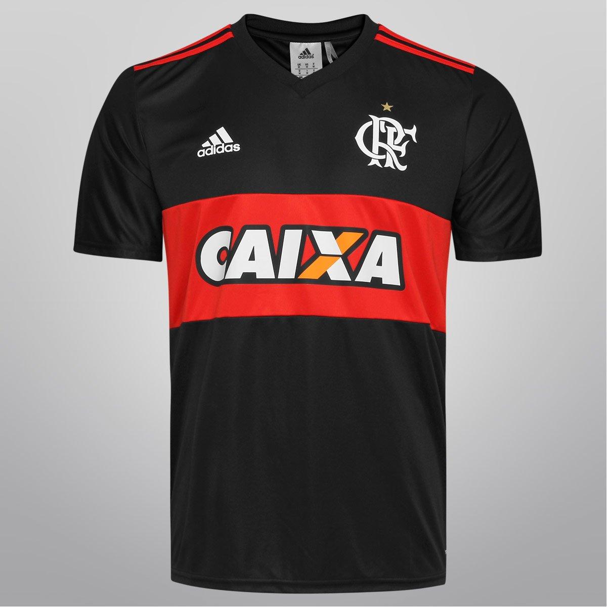Camisa Adidas Flamengo I 14 15 s nº - Torcedor - Compre Agora  b75116951eb