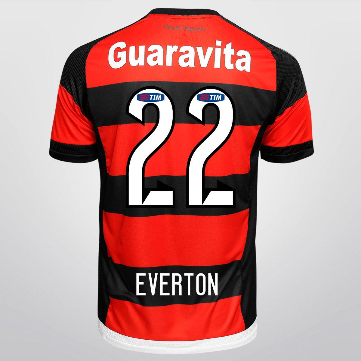 Camisa Adidas Flamengo I 15 16 nº 22 - Everton - Compre Agora  47dbfdddb82b2