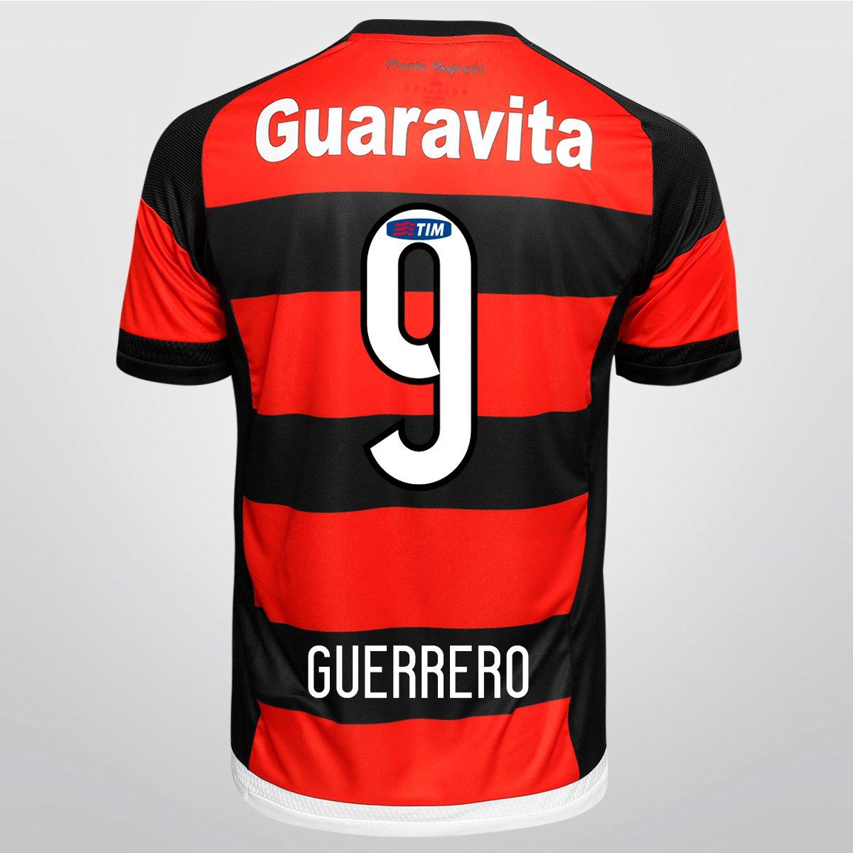 Camisa Adidas Flamengo I 15 16 nº 9 - Guerrero - Compre Agora  2f1ab65ccf53d