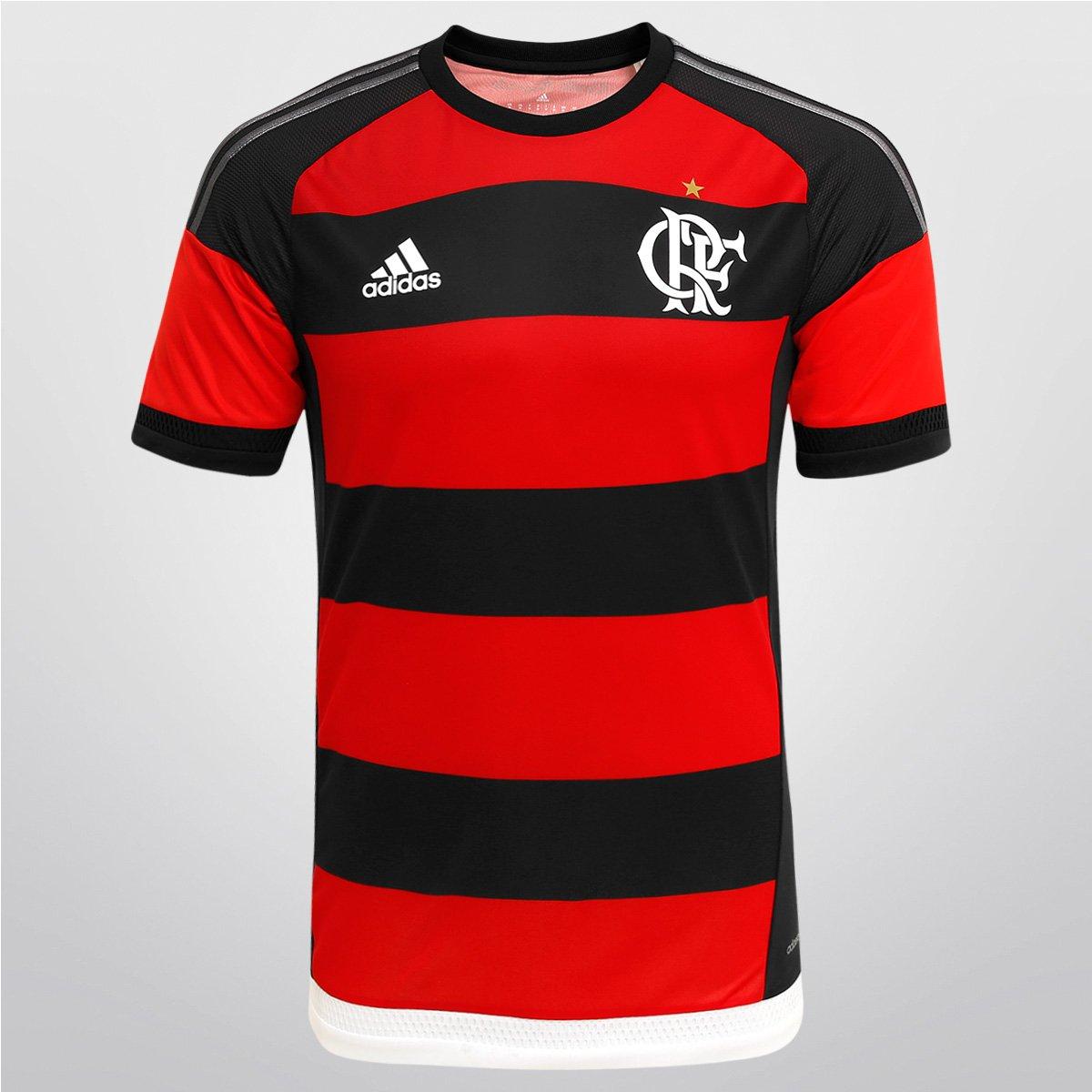 f645c8d234 Camisa Adidas Flamengo I 15 16 s nº - Jogador - Compre Agora