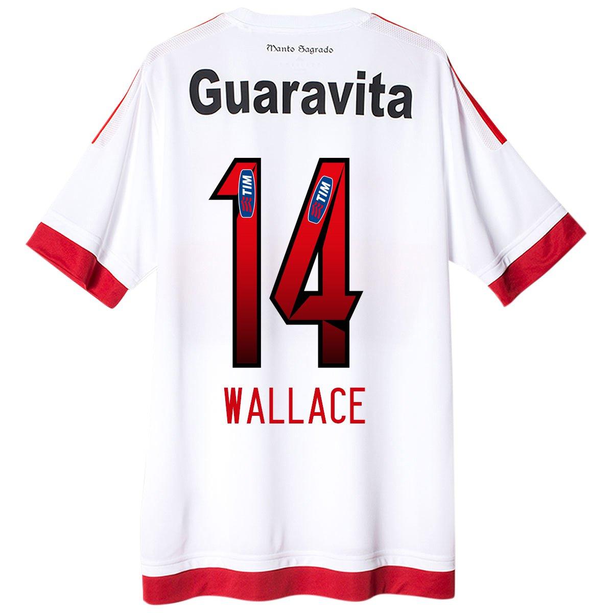 Camisa Adidas Flamengo II 15 16 nº 14 - Wallace - Compre Agora ... 703733c8b47