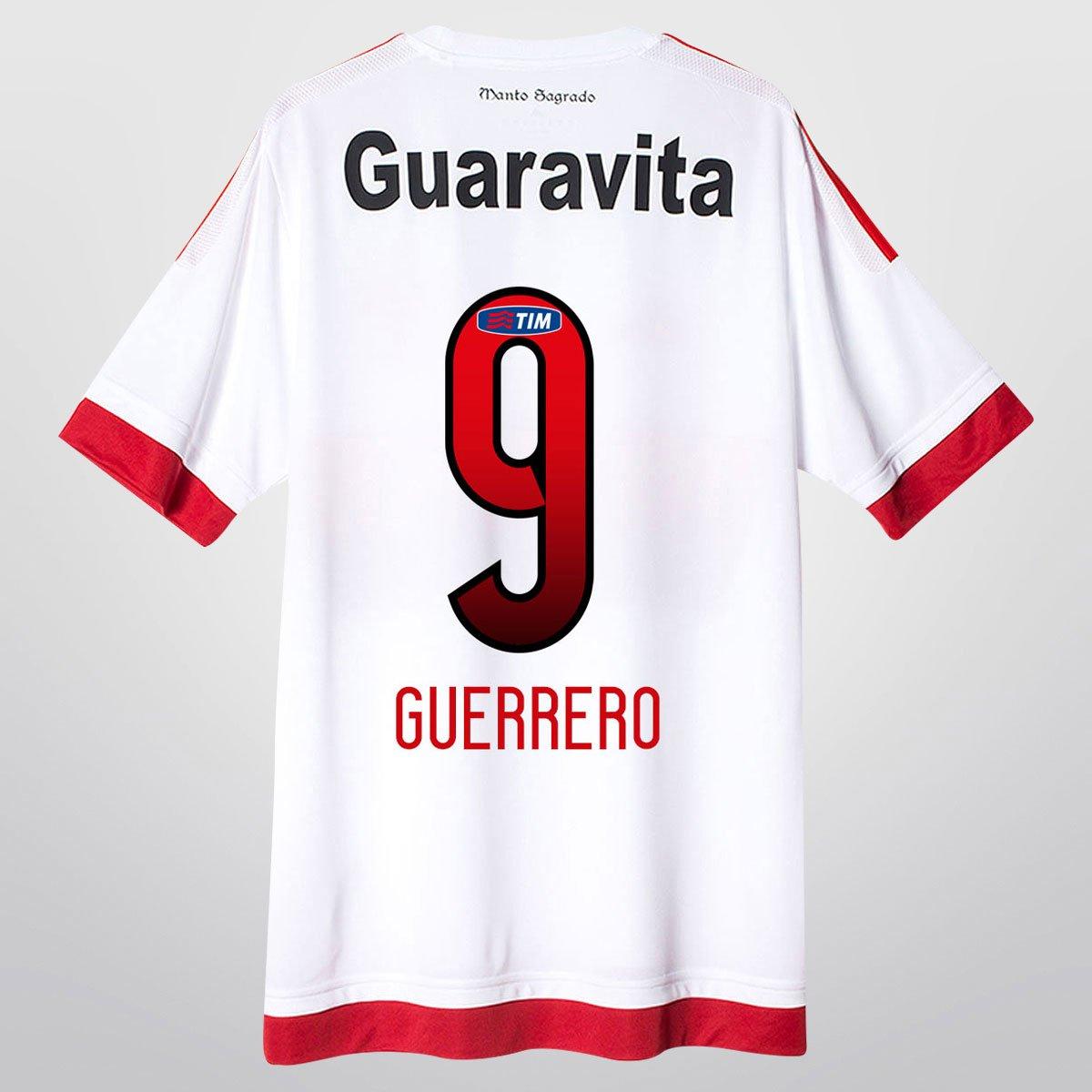 Camisa Adidas Flamengo II 15 16 nº 9 - Guerrero - Compre Agora ... 4eb8f5aa2522c