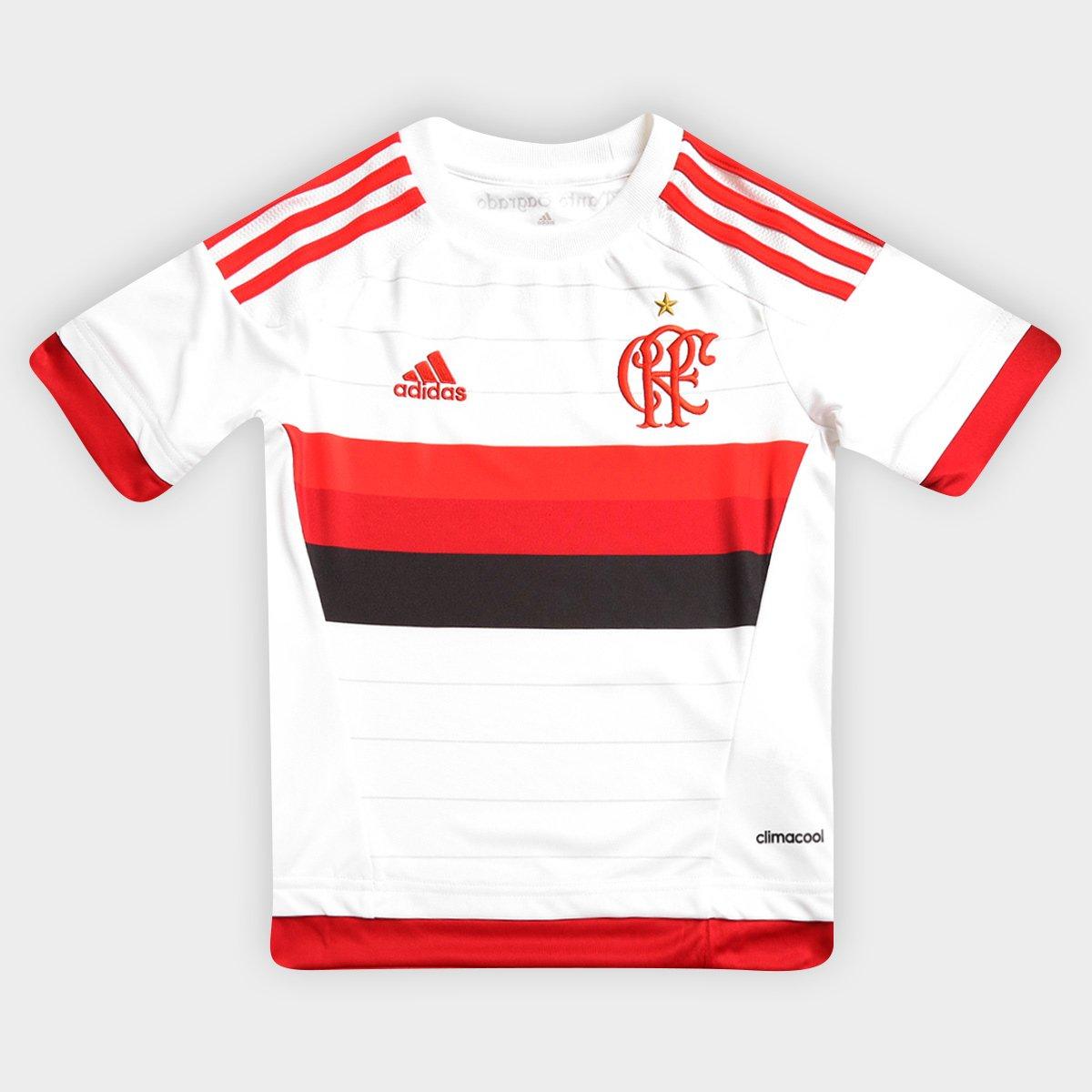 Camisa Adidas Flamengo II 15 16 s nº Infantil - Compre Agora  efd0b8560fac7