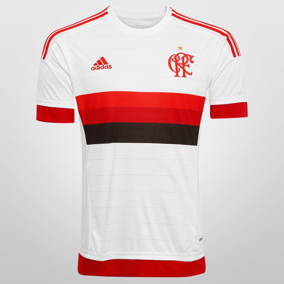 Camisa Adidas Flamengo II 15 16 s nº - Compre Agora  23c1454ec2c77