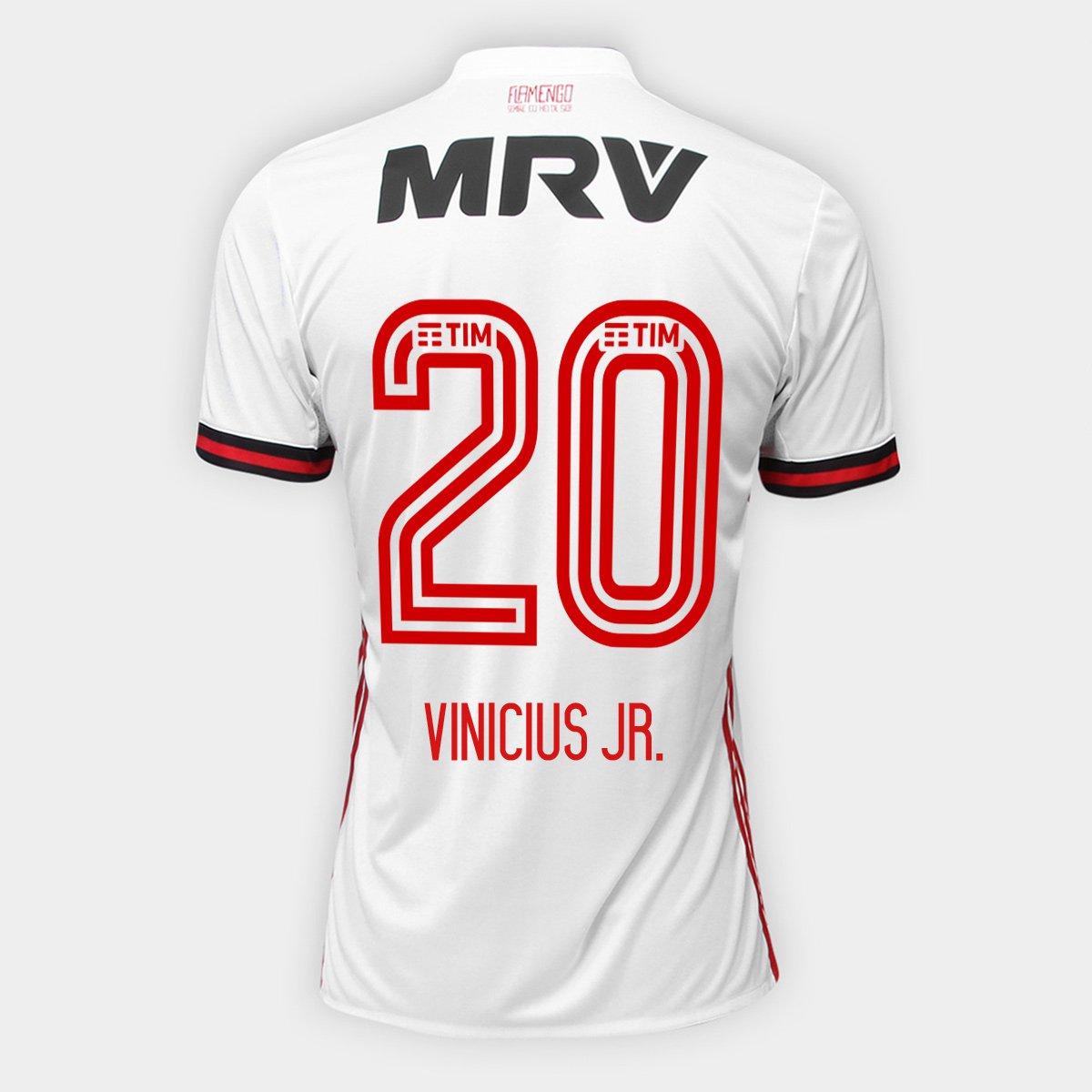 Camisa Adidas Flamengo II 17 18 N° 20 - Vinicius Jr. - Compre Agora ... 293668ebd9a80