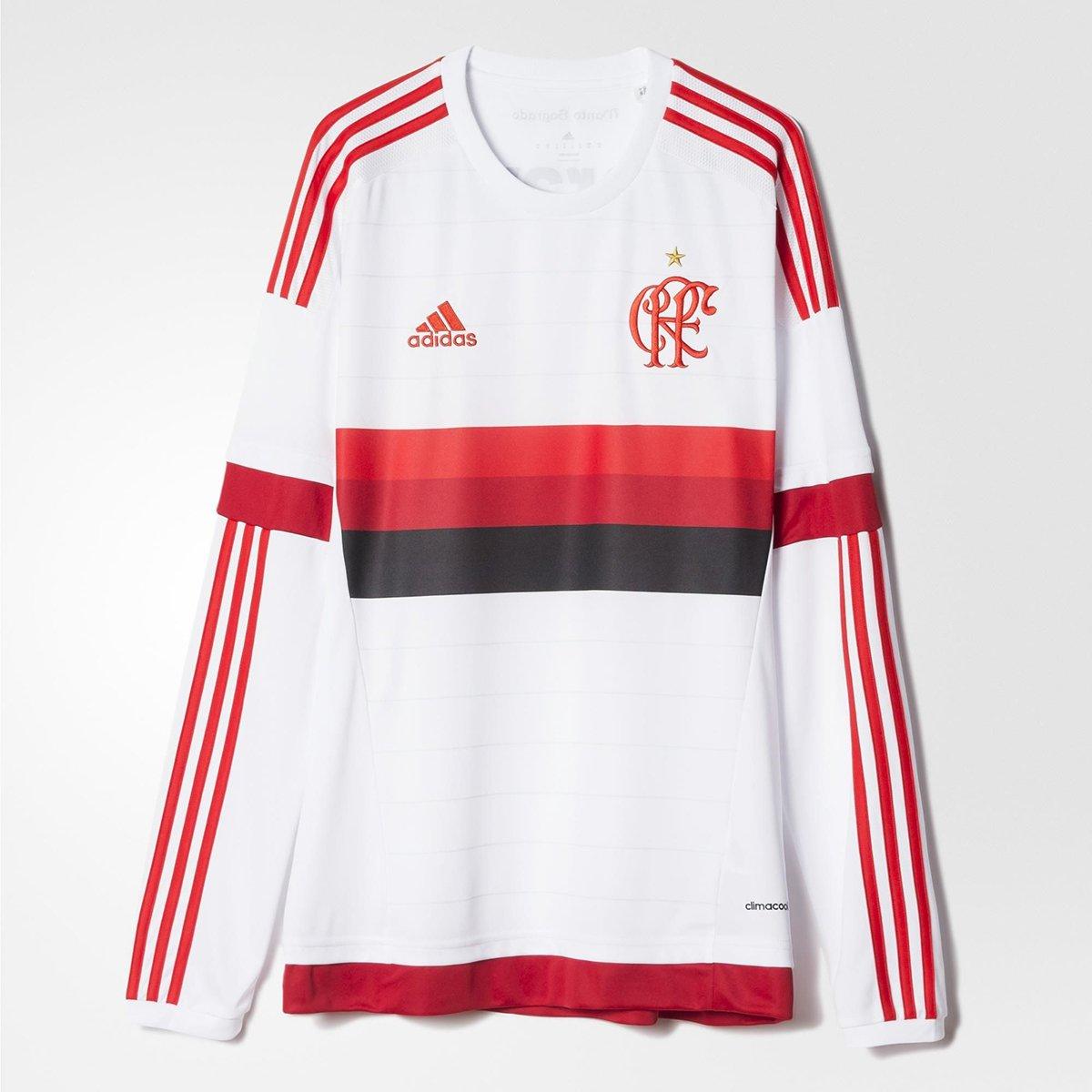 Camisa Adidas Flamengo II 2015 s nº M L - Compre Agora  cb2692f11d0e3