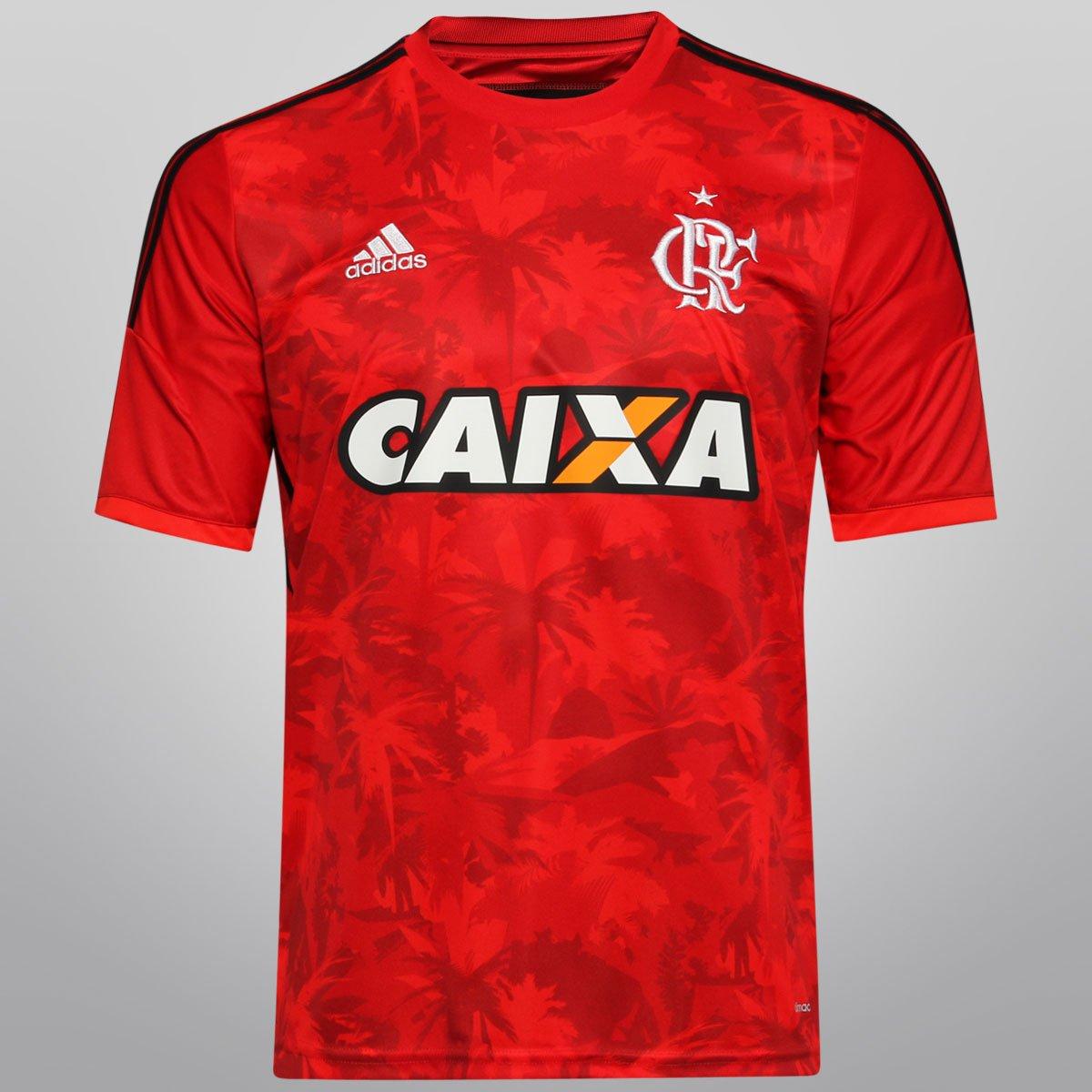Camisa Adidas Flamengo III 14 15 s nº - Compre Agora  c13bdd5d0930a