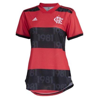 Camisa Adidas Flamengo Oficial I 2021/22 Feminina