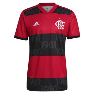 Camisa Adidas Flamengo Oficial I 2021/22 Masculin