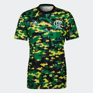 Camisa Adidas Flamengo Pré Jogo 2021