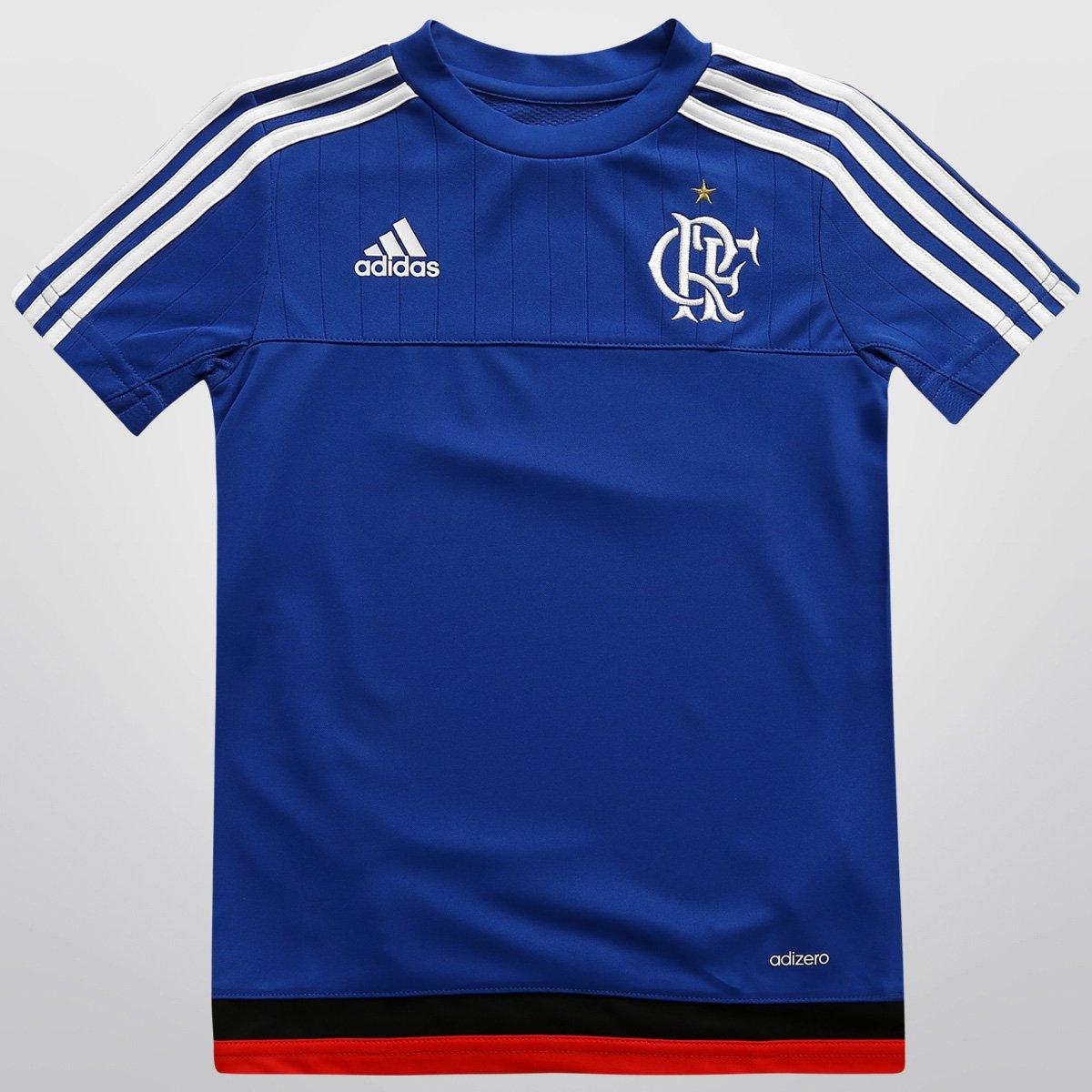 d41395ba3843b Camisa Adidas Flamengo Treino 2015 Infantil - Compre Agora
