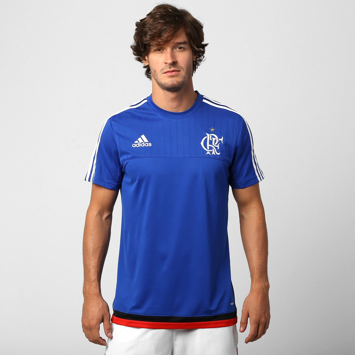 Camisa Adidas Flamengo Treino 2015 - Compre Agora  944d60e4ce0