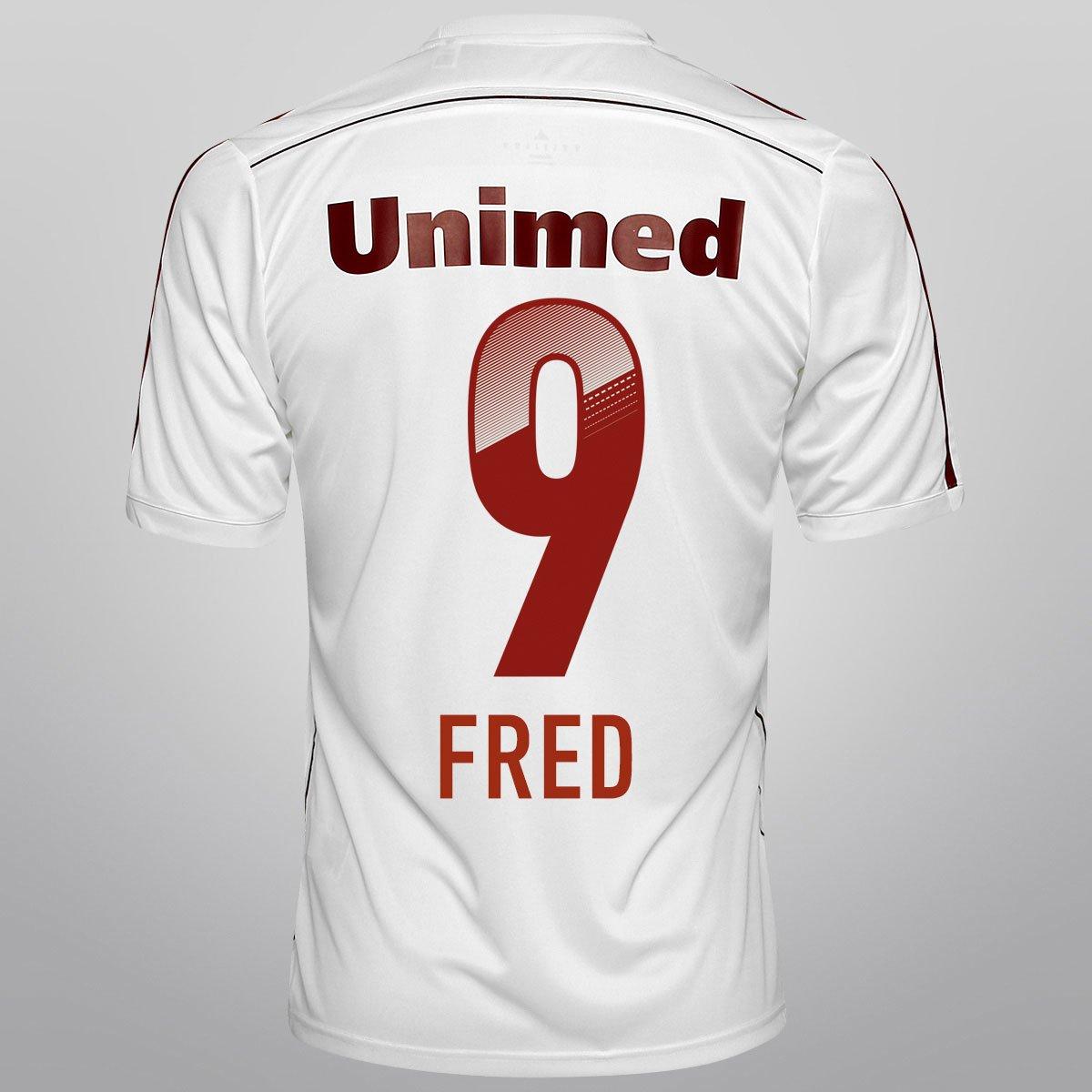 1513fbcdbc Camisa Adidas Fluminense II 14 15 nº 9 - Fred - Compre Agora