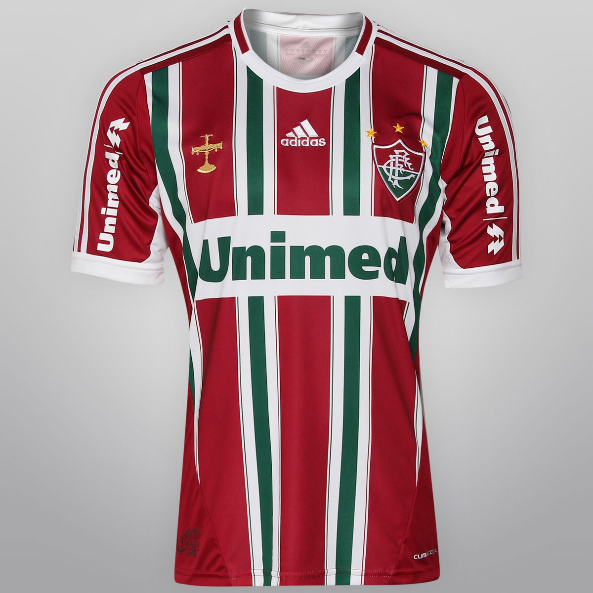 Camisa Adidas Fluminense IV 12 13 s nº - Compre Agora  09c4596dea971