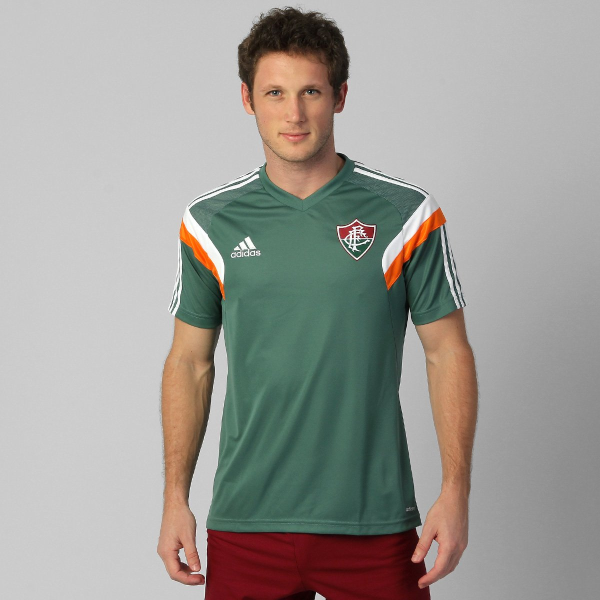 3268476057 Camisa Adidas Fluminense Treino 2014 - Compre Agora