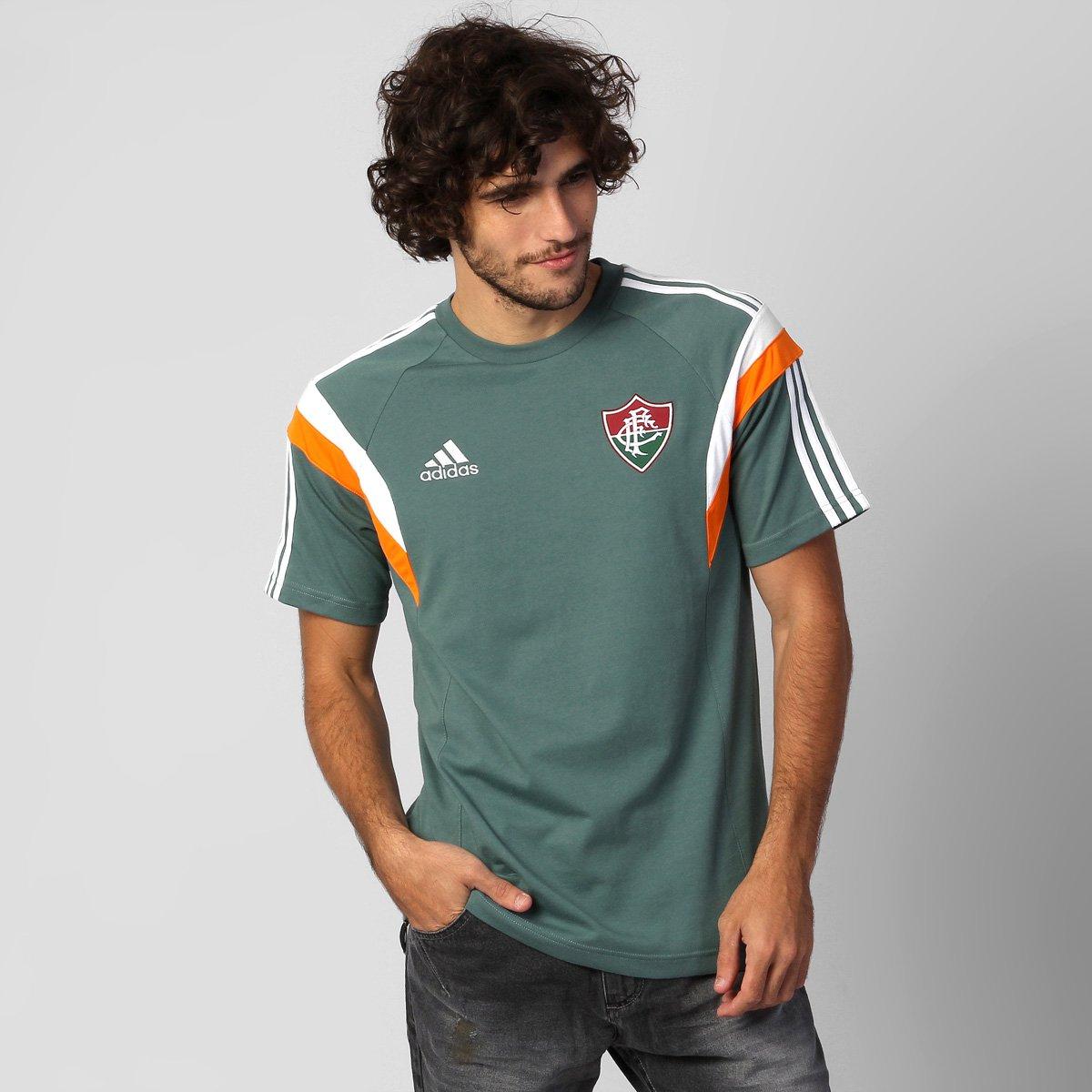 Camisa Adidas Fluminense Viagem 2014 - Compre Agora  1de2883aa46c2