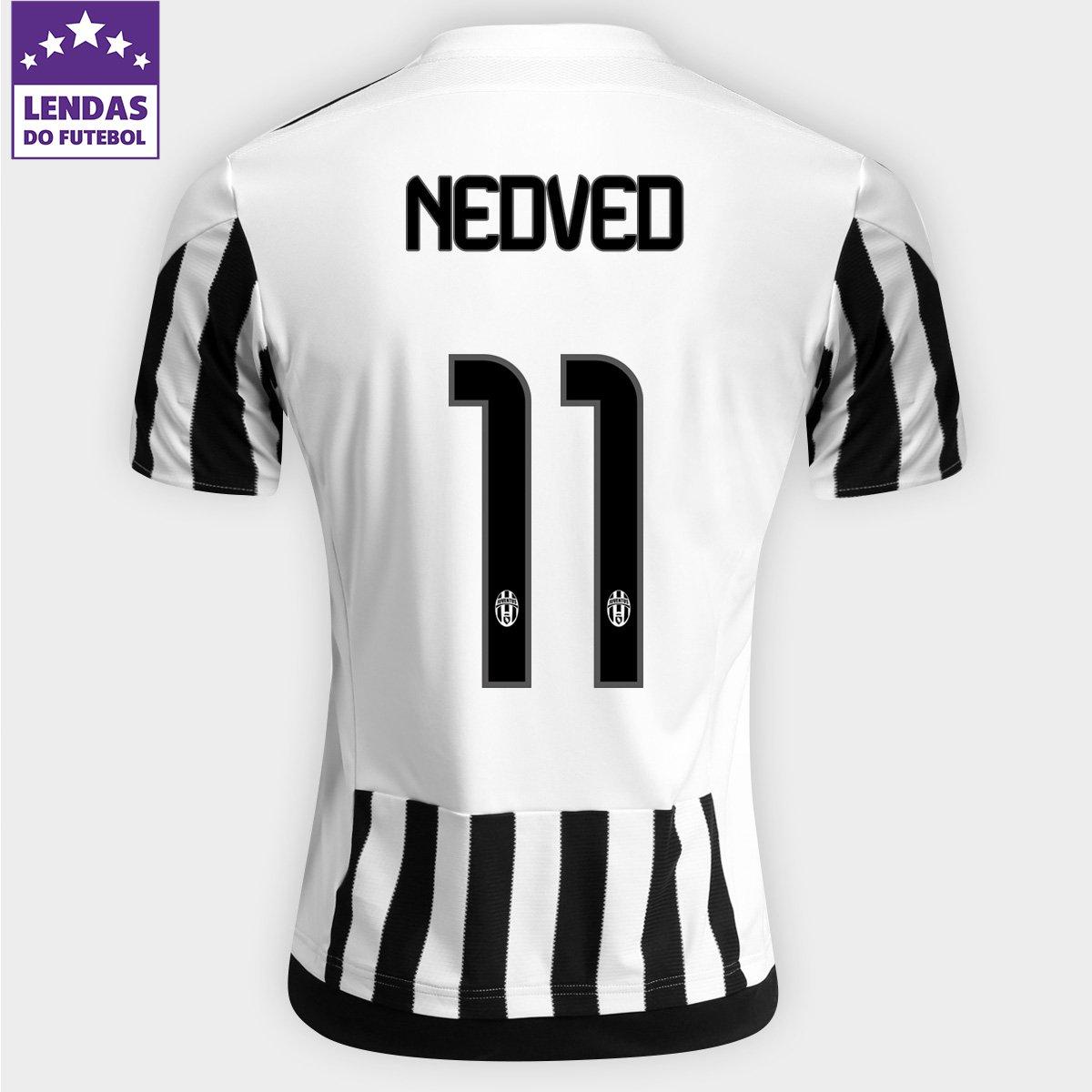 d991d32af9 Camisa Adidas Juventus Home 15 16 nº 11 - Nedved - Compre Agora ...