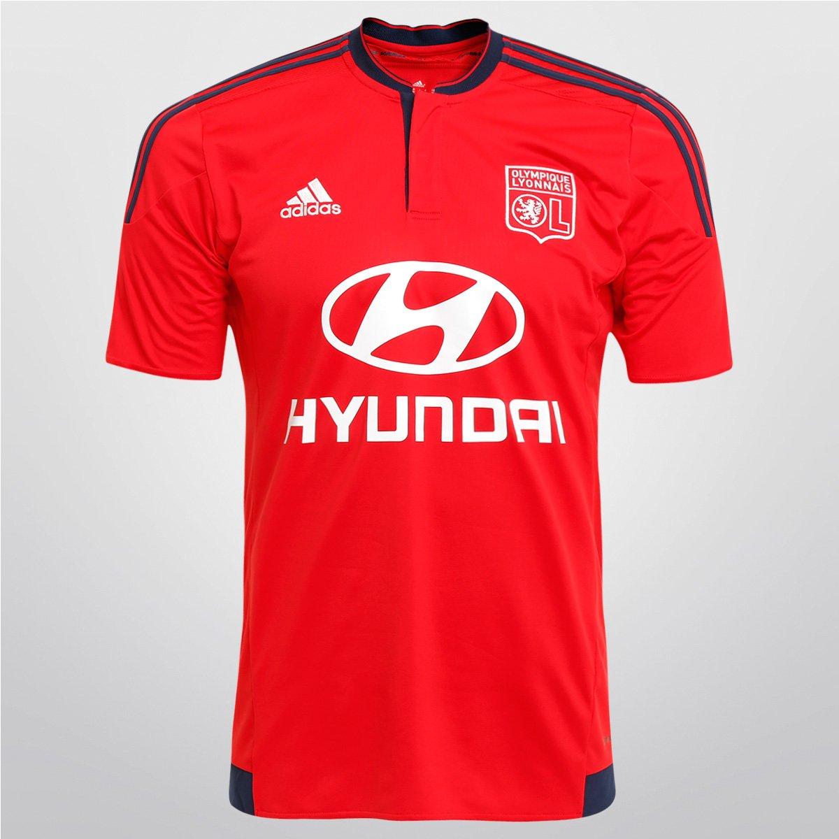 Camisa Adidas Lyon Away 15 16 s nº - Compre Agora  5f2db11c43991