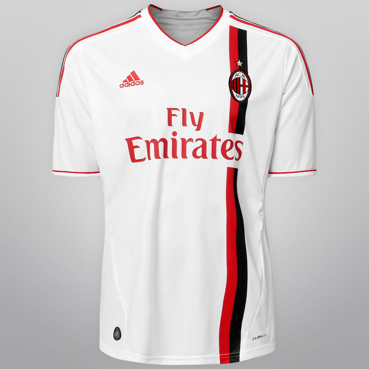 6e78e8bb86334 Camisa Adidas Milan Away 11 12 s nº - Compre Agora
