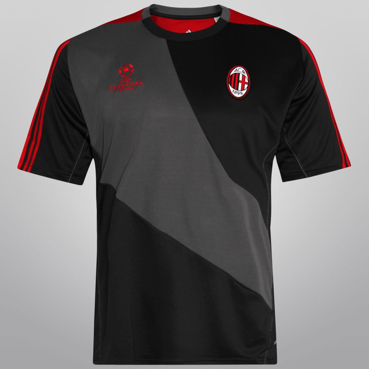 Camisa Adidas Milan UEFA Champions League Treino 12 13 - Compre Agora  ff541ffb9c7f9