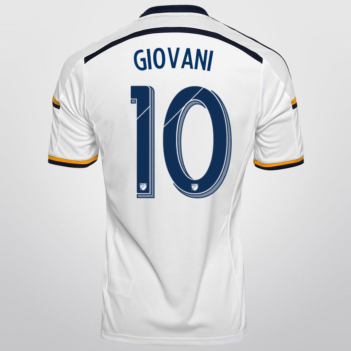 b9feef8c9f Camisa Adidas MLS Los Angeles Galaxy Home 15/16 nº 10 - Giovani | Netshoes
