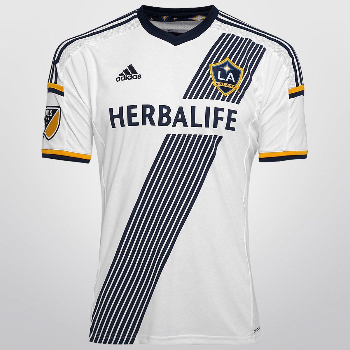 887059fe81 Camisa Adidas MLS Los Angeles Galaxy Home 15/16 s/nº | Netshoes