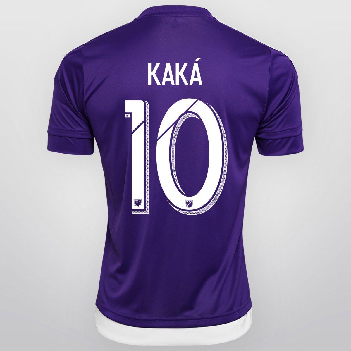 Camisa Adidas MLS Orlando City Home 15 16 nº 10 - Kaká - Compre Agora  01cfde5c52d00