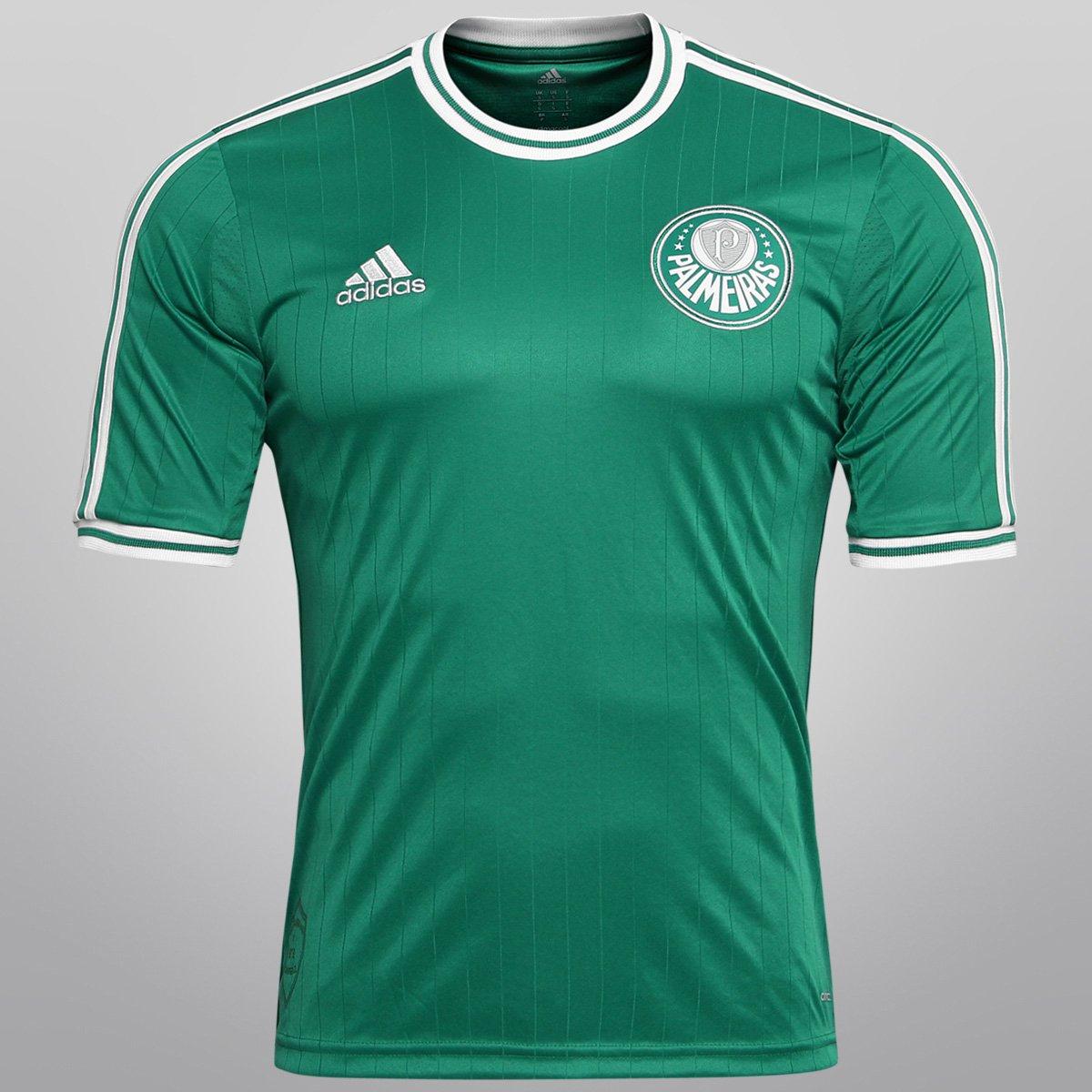 Camisa Adidas Palmeiras I 13 14 s nº - Compre Agora  0b8bbba6926e0